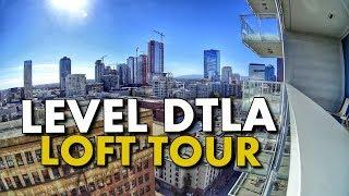 DTLA LUXURY BOUTIQUE HOTEL LOFT TOUR - LEVEL Furnished Living