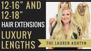 "Luxury Length Extensions | 12-16"" & 12-18"" Color: Darci | Lauren Ashtyn"