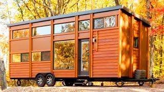Amazing Luxury Escape Traveler XL Award-Winning Little Modern House on a Trailer