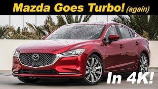 2018 Mazda6 2.5L Turbo (Signature) Review and Comparison