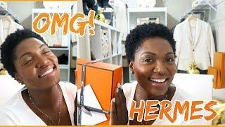 NEW | MY FIRST HERMES UNBOXING | LUXURY UNBOXING