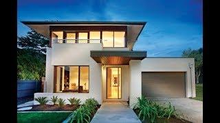 2 Luxury Simple Modern Two Storey House Design With Amazing Lifestyle Pack