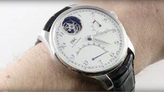 IWC Portugieser Tourbillon Mystere Retrograde IW5046-01 Luxury Watch Review