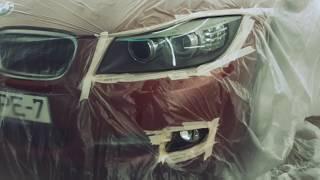 Кузовной ремонт BMW E90. Body car repair (BMW E90)