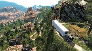 #500 Map Peru Death Road v 1.2 - Euro Truck Simulator 2