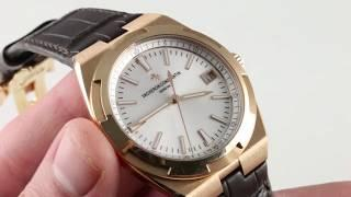 Vacheron Constantin Overseas 4500V/000R-B127 Luxury Watch Review