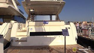 2019 Prestige 680 S Luxury Yacht - Deck and Interior Walkaround - 2018 Cannes Yachting Festival