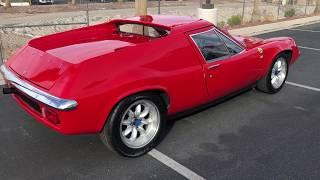 1973 Lotus Europa At Celebrity Cars Las Vegas