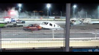 Crazy Caravan Racing Demolition Derby Carnage!!
