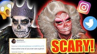 RICH LUX AND I ANSWER SCARY FAN QUESTIONS! *Spooky*