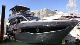 2019 Cranchi E52 F Evoluzione Luxury Motor Yacht - Walkthrough - 2019 Miami Yacht Show