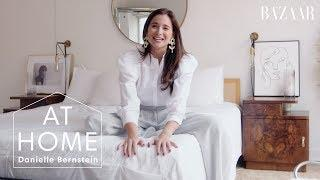 Danielle Bernstein's Luxe NYC Apartment Tour | At Home With | Harper's BAZAAR