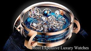 8 INSANE WATCHES (Most Expensive & Luxury Watches In The World) You Must Watch.