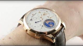 Jaeger-LeCoultre Duometre Unique Travel Time (UTT) 6062420 Luxury Watch Review