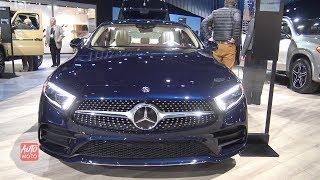 2019 Mercedes CLS 450 - Exterior And Interior Walkaroundd - 2018 LA Auto Show