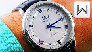 "Omega De Ville Prestige ""Steel"" Satin Dial (424.13.40.20.02.003) Luxury Watch Review"