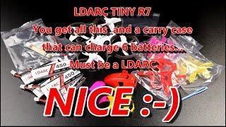 LDARC Tiny R7 75mm Brushed motor Whoop 5.8Ghz FPV quad