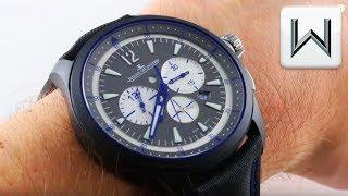 Jaeger-LeCoultre Master Compressor Chronograph GMT Blue Ceramic Q205C571 Luxury Watch Review