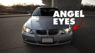 BMW E90: How To Replace Headlight & Angel Eye Bulbs (DIY for 335i, 330i, 328i, 325i 3-Series)
