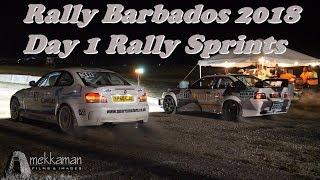 Sol Rally Barbados 2018 - Day 1 Rally Sprints