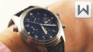 IWC Pilot's Watch Double Chronograph (IW3713-03) Luxury Watch Review
