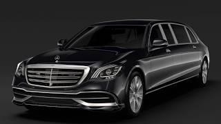 2019 Mercedes Maybach S650 Pullman new luxury design