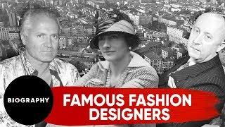 Famous Luxury Fashion Designers | Chanel, Dior & Versace