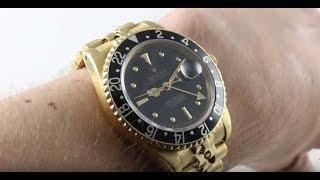 Rolex GMT-Master 16758 Vintage Rolex / Luxury Watch Review