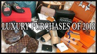 BEST AND WORST LUXURY PURCHASES OF 2018 | REVIEW | GINALVOE