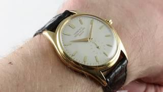 Vintage Patek Philippe Calatrava 2526 Luxury Watch Review