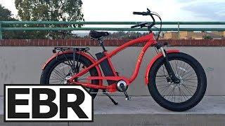 E-Lux Tahoe Sport Video Review - $3k Fat Cruiser Electric Bike with Lights, Fenders, & Rack