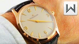 Jaeger-LeCoultre Master Ultra Thin (6.6MM!!) Q1342420 Luxury Watch Review