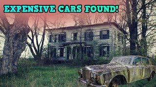 Abandoned Mansion With Luxury Cars Left Behind!