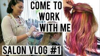 DAY IN THE LIFE OF A HAIRSTYLIST | PULP RIOT FASHION COLORS