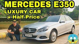 MERCEDES E350 FOR SALE AT HALF PRICE ???????????? | LUXURY CAR MARKET DELHI | JD VLOGS DELHI