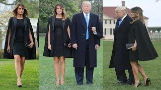 Melania Trump Luxury In Fashion Icon For France's First Couple At White House