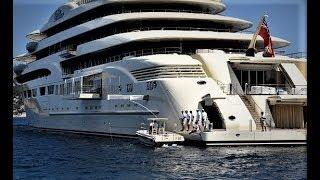(( $1,000,000,000 )) WORLDS LARGEST MOST EXTREME LUXURY SUPERYACHT ((NEVER SEEN)) INTERIOR VID))