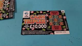 """Scratchcard Thursday..Super 7""""s ..Vs..Luxury Lines..and Mistery Guest Star?"""
