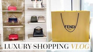 Luxury Shopping, Hong Kong & A Fendi Unboxing!