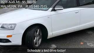 2008 Audi A6 3.2 4dr Sedan for sale in MALVERN, PA 19355 at