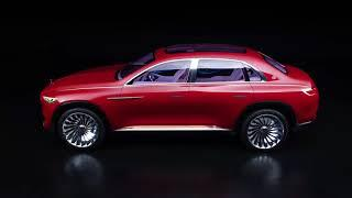 Maybach Vision Ultimate Luxury concept video debut