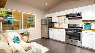Luxury Beautiful Tiny Home with Stunning Lager Inside For Sale Under $40K