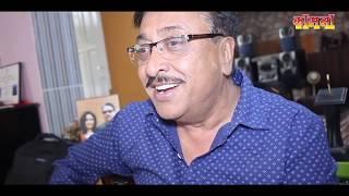 MR. SHAMBHUJEET BASKOTA RECEIVING LIFE TIME ACHIEVEMENT AWARD AT KAMANA FILM AWARDS 2075