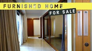 Furnished Apartment 3BHK Home near JW Marriott Whitefield, Luxury Apartment Tour! Video
