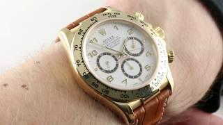 Rolex Daytona 16518 (Zenith El Primero) Luxury Watch Review
