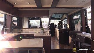 2019 Galeon 640 Fly Luxury Yacht - Deck and Interior Walkaround - 2018 Fort Lauderdale Boat Show