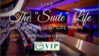 """Announcing The """"Suite Life"""" Contest! Win a pair of Luxury Suite seats!"""