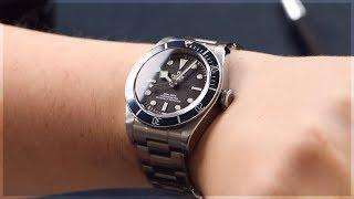 Tudor Black Bay Blue Luxury Watch M79230B-0008 - On The Wrist