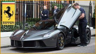 Gordon Ramsay's Ferrari & Other Luxury Car Collection.