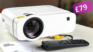 ELEPHAS 3500 Lux Portable Projector | Best budget projector ever!